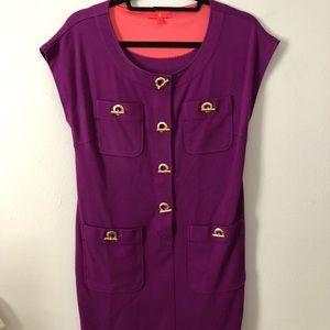 Purple Ivanka Trump dress! Size small.